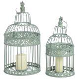 Birdcage сбор винограда Set/2 для украшения венчания