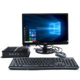 PC Fanless da tabuleta industrial de Intel I3/I5/I7 5550u mini (COM 6*RS232)