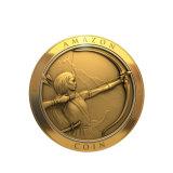 O tipo feito sob encomenda inventa a moeda do metal para a promoção
