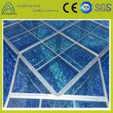 Этап Tempered стекла напольного крытого представления регулируемый прозрачный светлый