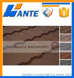Плитка крыши металла стильного цветастого камня Coated