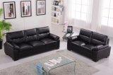居間の家具のための上のグレーンレザーのソファの革ソファー