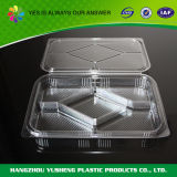 Contenitore trasparente del biscotto dell'animale domestico di plastica di utilizzazione alimentare