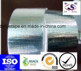 Pressionar a fita adesiva sensível da folha de alumínio