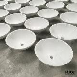 小型のアクリルの固体表面の洗浄手の浴室の洗面器