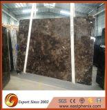 Lastra di pietra di marmo popolare scura cinese di Emperador da vendere
