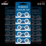 Tasten-Zellen-Batterien Soem-AG9/Lr45/194/936 1.5V alkalische
