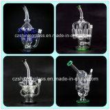 Glasrecycler-Ölplattformen, die Wasser-Rohr mit Inline-Diffuser (Zerstäuber) rauchen