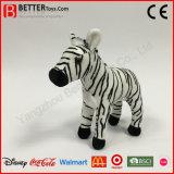 Realistisches weiches Spielzeug-Plüschtier angefüllter Zebra für Kinder/Kinder