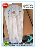 CNC da boa qualidade que faz à máquina para a placa de alumínio com anodização vermelha