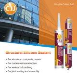 Um RTV componente que cura o vedador do silicone para a parede de cortina estrutural