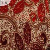 Tipos tecidos jacquard das telas do sofá (FTH31017)