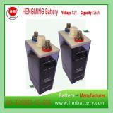 Tipo Pocket bateria recarregável de Hengming 1.2V125ah Kpm125 da série de Kpm da bateria de cádmio niquelar (bateria Ni-CD)
