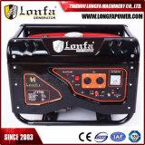 type silencieux de 2.5kVA 168f-1 6.5HP groupe électrogène d'essence pour l'usage à la maison