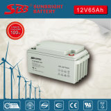 Gel-Batterie 12V65ah mit Cer RoHS UL-Bescheinigung
