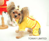 Royal Golden Pet Jumpsuit Chinois Nouvel An Costumes de chien