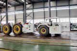 De speciale Auto met 4 wielen van de Behandeling van het Schild van de Aandrijving van het Voertuig van de Mijnbouw 50t Hydraulische