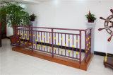Balcón de acero galvanizado decorativo de alta calidad 20 que cercan con barandilla de la aleación de Haohan Alluminum