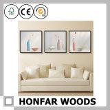 5 '' деревянных картинных рамок/картинная рамка искусствоа стены деревянной
