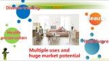 Machine chaude médicale de Moxibustion de thérapie d'utilisation à la maison multifonctionnelle pour la beauté avec 5 modes