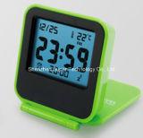 Reloj de alarma plegable portable de Digitaces del recorrido del LCD