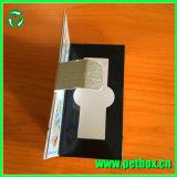Rectángulo magnético de empaquetado de papel con la ventana plástica