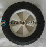 8 인치 용접 기계를 위한 편평한 자유로운 PU 바퀴