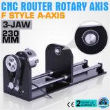 CNC a-as van de Stijl van de Router de Bijkomende F, Roterende As