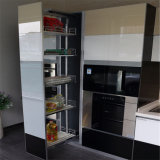 Moderner Küche-Schrank-Ausgangsküche-Metallrahmen-Schrank
