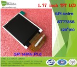 1.77 Bildschirm des Zoll-128*160 Spi TFT LCD, St7735s, 14pin mit Options-Touch Screen