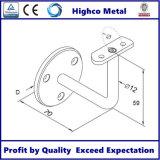 Supporto a mensola per la scala che recinta la balaustra dell'acciaio inossidabile
