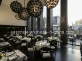 2017 presidenze pranzanti moderne con il blocco per grafici di legno solido, mobilia commerciale del ristorante