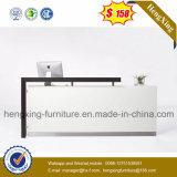 (HX-5N421) Bureau de réception de bureau blanc Mobilier de bureau en bois MFC