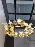 Освещение стены самомоднейших декоративных листьев латунное (KAW17-110B)