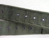 Courroie militaire épaisse de type britannique et courroie de sangle de coton estampée par coutume