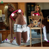 158cm reizvolles Mädchen-lebensechte reizvolle Puppen grosse Brust u. Hüfte-Silikon-Geschlechts-Puppe für männliche Masturbation