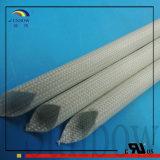 Fibre de verre enduite de silicone ignifuge flexible d'UL1441 VW-1 gainant 1.5kv