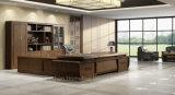 나무로 되는 사무실 책상 큰 호화스러운 행정상 책상 (HF-EU02D381)