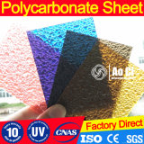 Polycarbonaat In reliëf gemaakt Blad