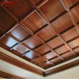 Disegno di legno del soffitto del teck decorativo (GSP11-002)