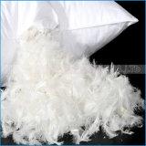 Используемая гостиницой подушка пера гусыни нового качества типа белая мягкая