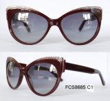 Модные солнцезащитные очки для ацетата высокого качества для дам
