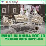 Кровать софы Gebuine роскошной домашней мебели кожаный
