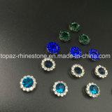 Горячий продавая Rhinestone кристалла 7mm в шить на Strass с Rhinestone установки когтя (TP-7mm полностью кристалл Монтаны круглый)