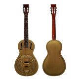 Guitarra de Resophonic da sala de estar do corpo do metal de Bell do vintage do preço de grosso