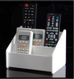 Fernsteuerungsorganisator. Telefon und stationärer Halter
