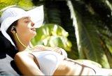Écouteurs sans fil Bluetooth de sport 4.0 écouteurs stéréo sans fil Ultra-Portatifs d'écouteur de sport de Sweatproof