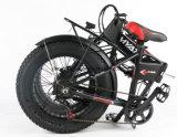 20 بوصة يخفى بطارية يطوي سمين كهربائيّة درّاجة طي