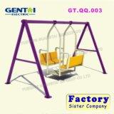 مصنع مباشرة بالجملة خارجيّة حد فناء يعلّب أرجوحة شكل قرنة عشب كرسي تثبيت