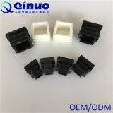 China-Fabrik-Preis Plastikendstöpsel des 13 mm-schwarze Quadrat-pp.